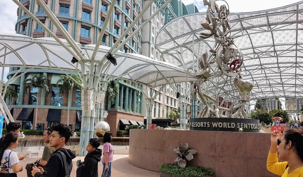 Universal Studios Singapura - de lugar nenhum