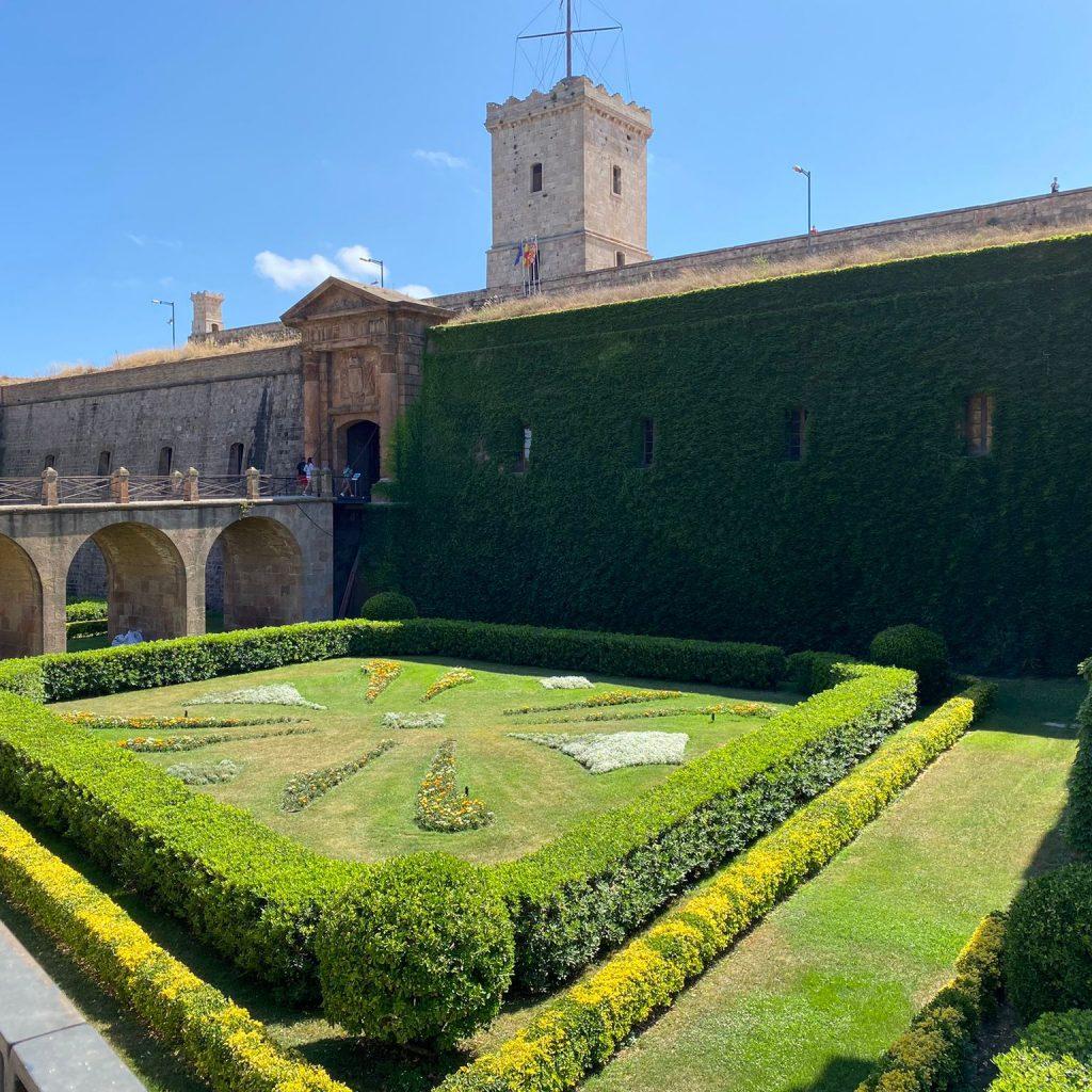 castelo em barcelona montjuic