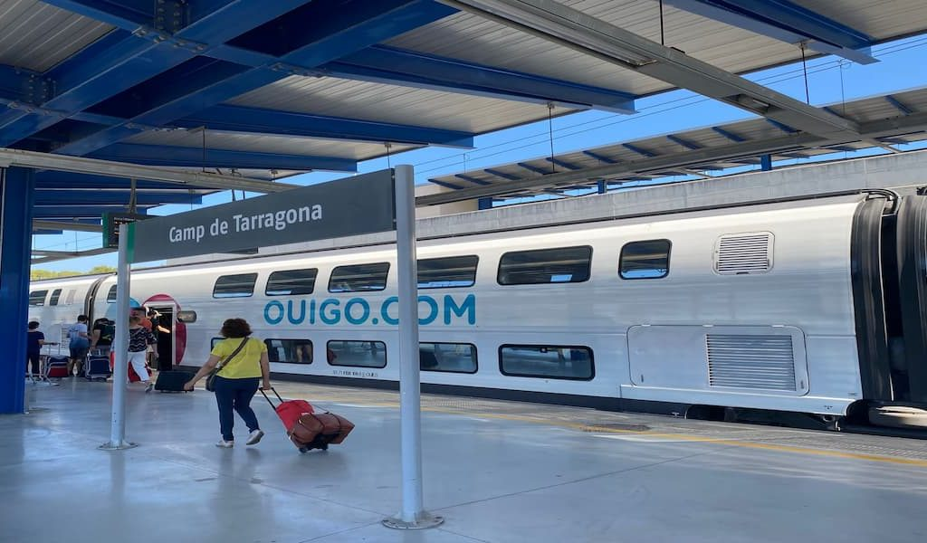 trem na espanha - tarragona